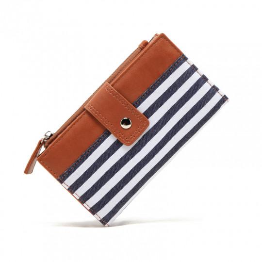 Գծավոր կանացի դրամապանակ
