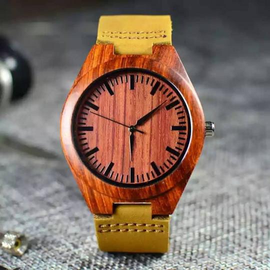 Փայտե Ժամացույց